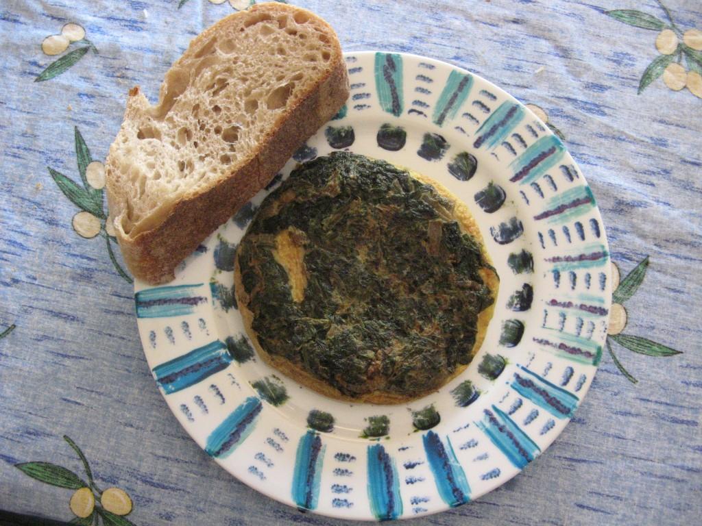 omelette medievale recette