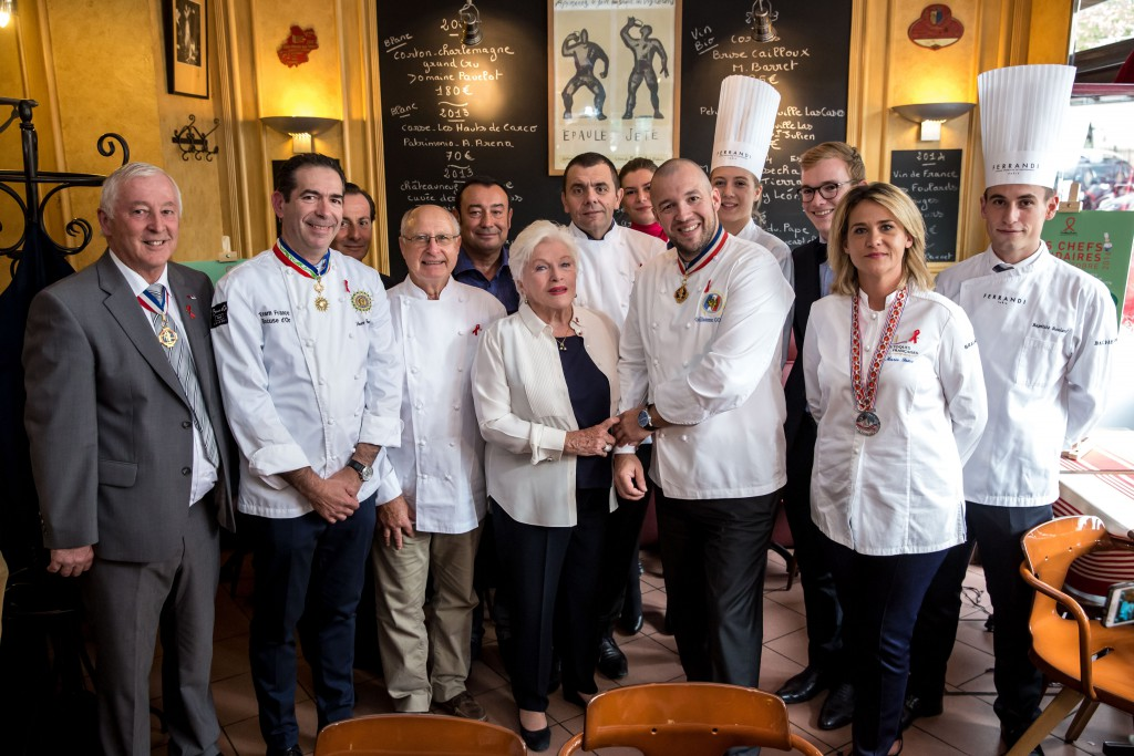 ©Vincent Isore/Sidaction Chefs Solidaires Sidaction