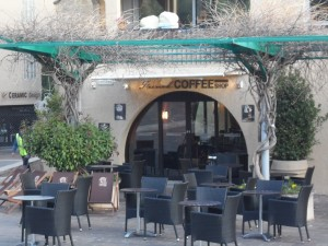 French Coffee Shop Salon