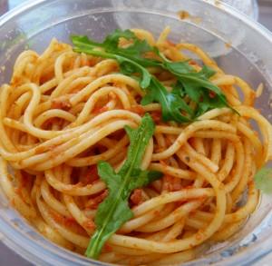 Fresh food pasta