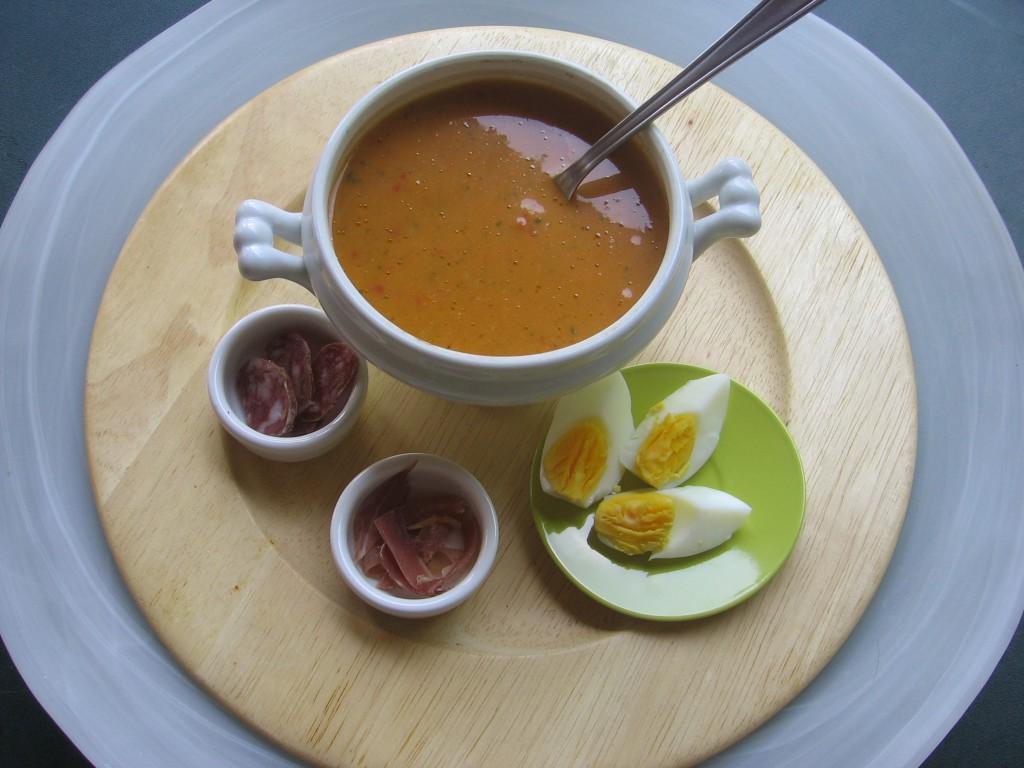 recette gaspacho anti-gaspillage