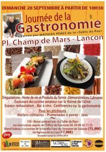 Journee de la gastronomie