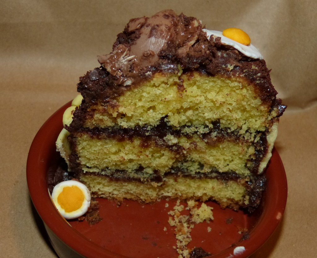 recette layer cake paques