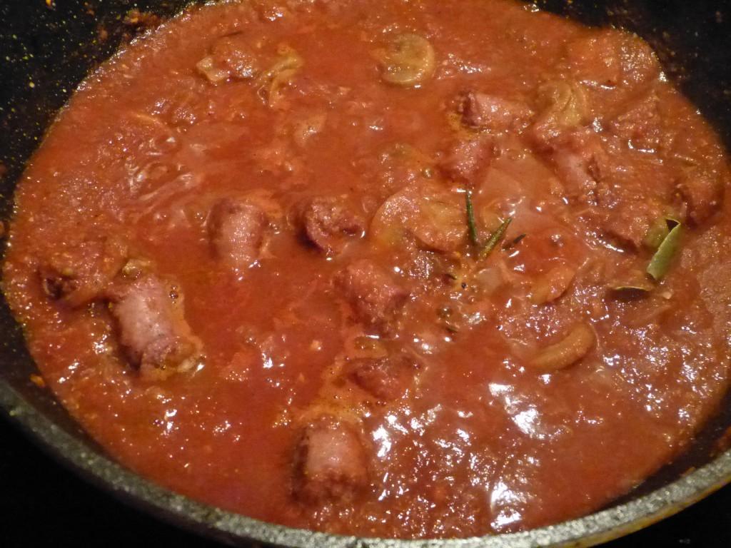 recette ragout saucisses