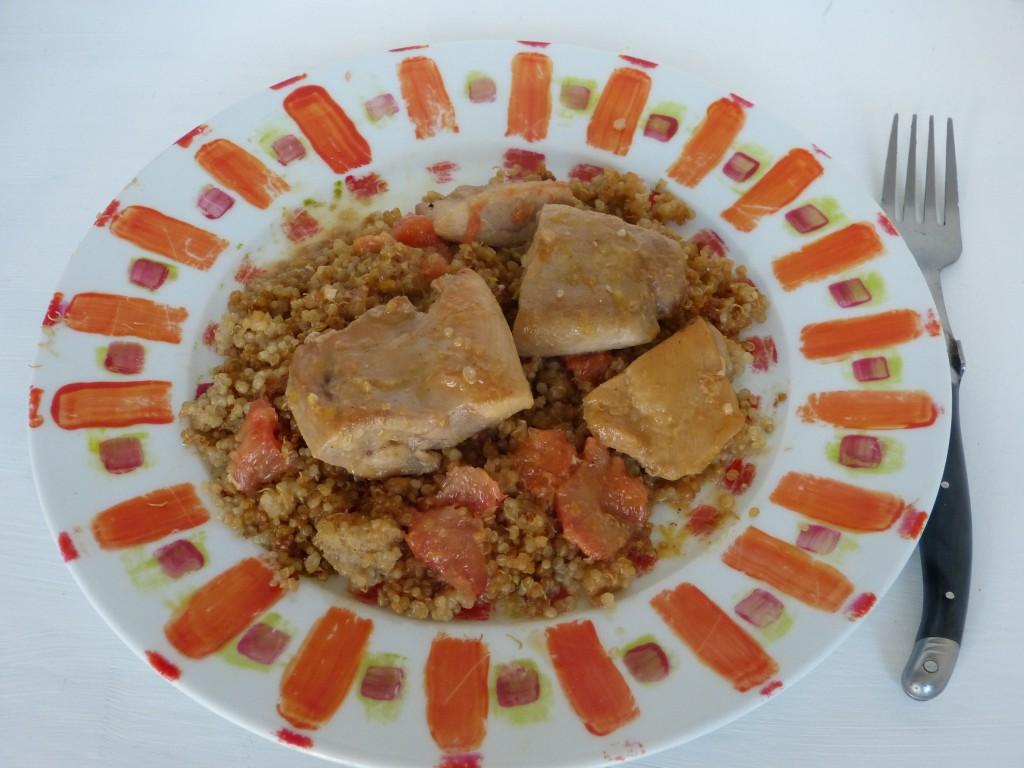 recette escalopes poulet agrumes