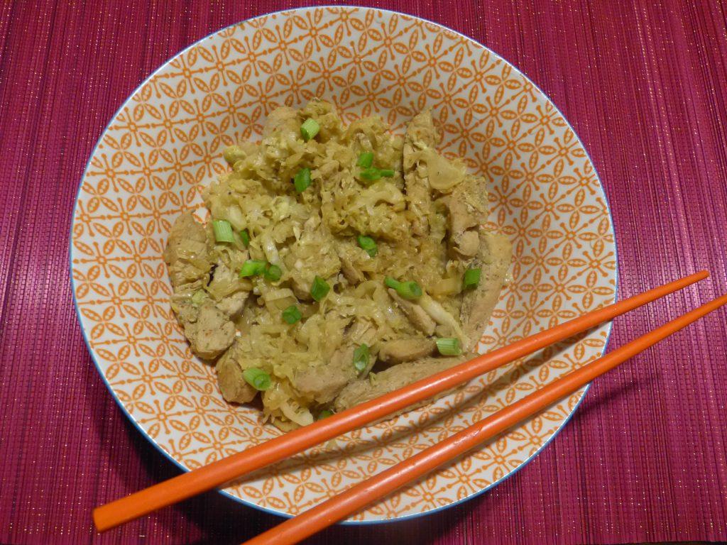 Un savoureux wok de dinde piment e au chou chinois blogs for Acheter un chinois cuisine