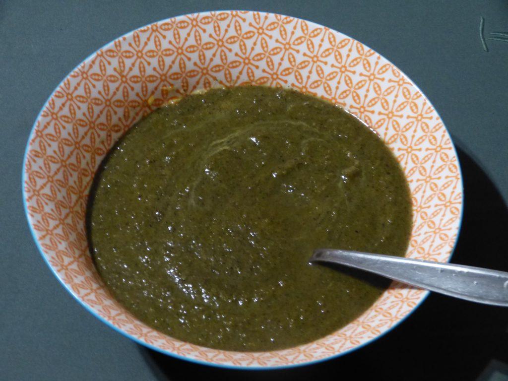 recette soupe fanes chou rave champignons