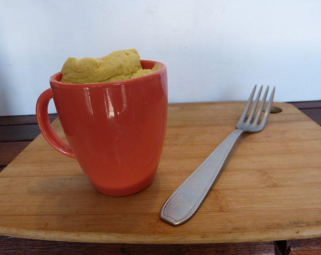 recette mug cake roquefort