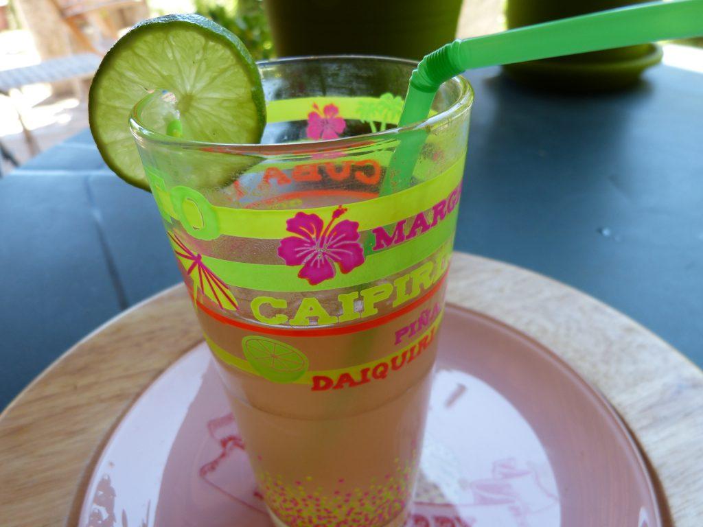 recette pomme gingembre eau