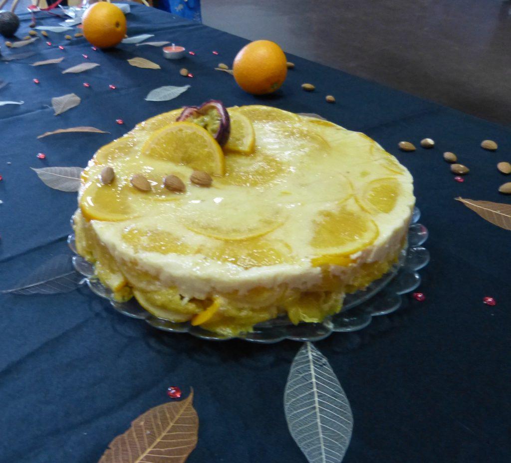 recette bavarois orange amere