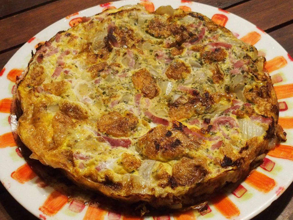 recette omelette endives