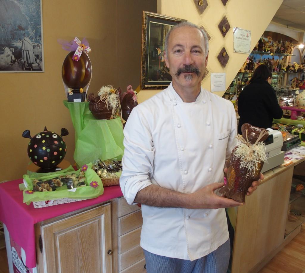 Jean marie bertrand ma tre chocolatier salonais reconnu - Marie salon de provence ...