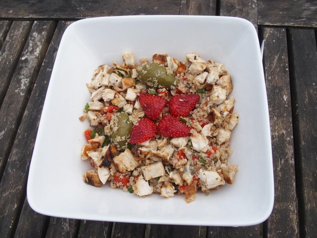recette taboule tomates quinoa salade