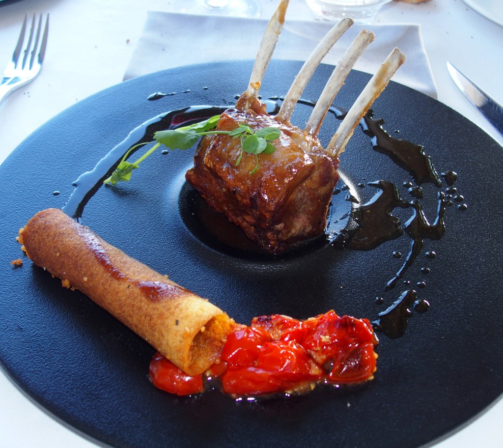 restaurant Gordes Mas Romarins esprit