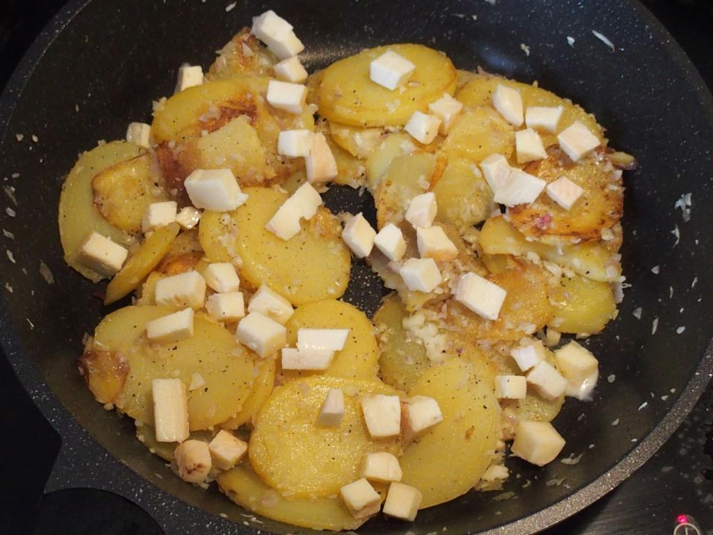 recette pommes terre munster truite