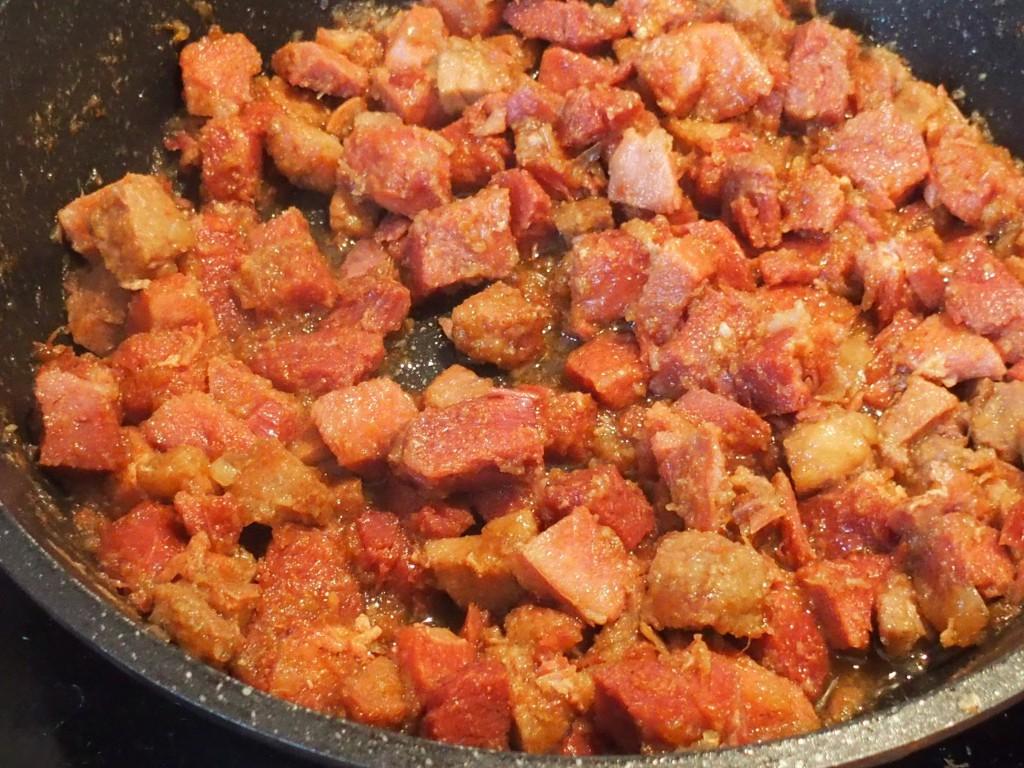 recette mijote porc sirop erable