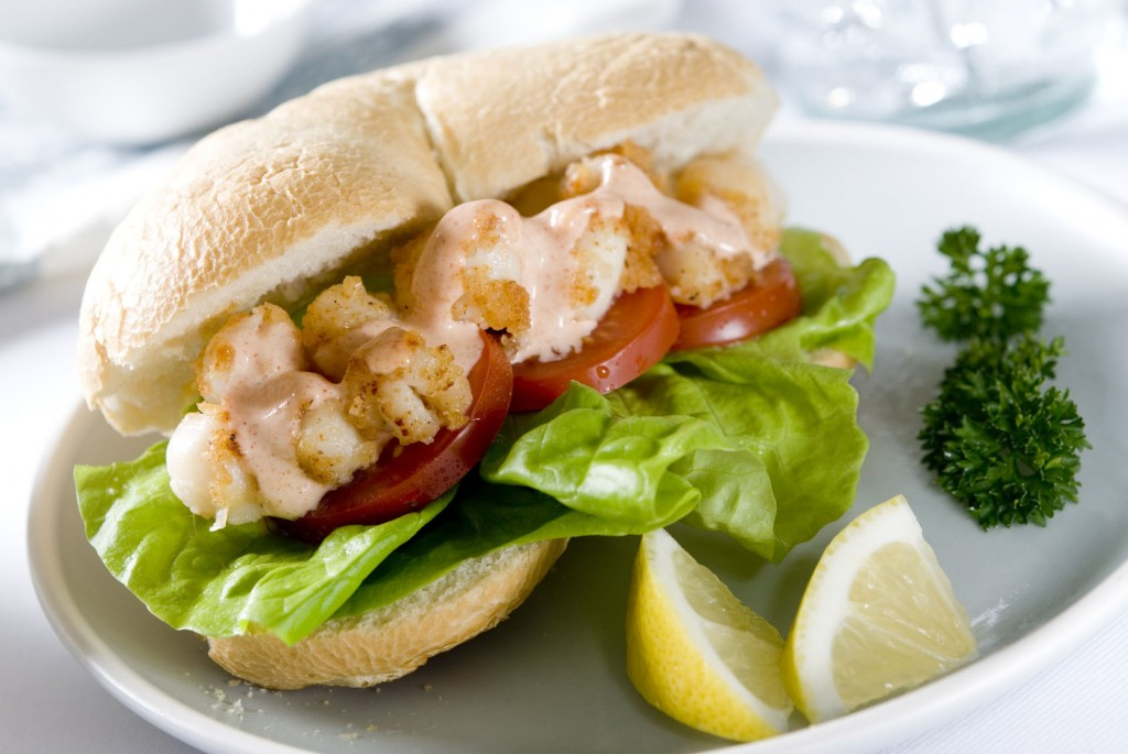 recette sandwich po'boy louisiane