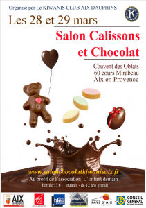 Salon calissons et chocolat aix