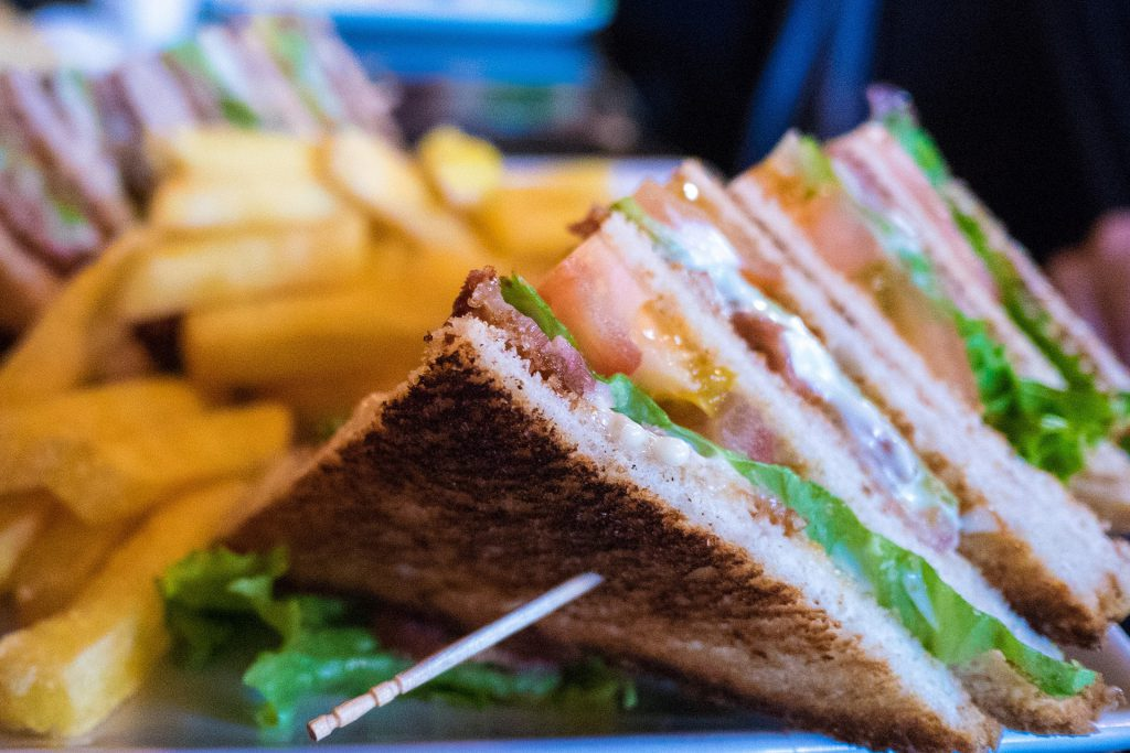 salon sandwich snack show