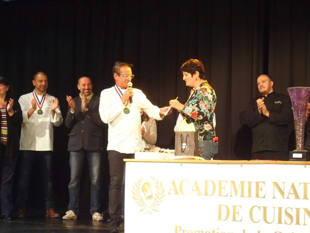 Un tr s beau succ s pour le concours de desserts gourmicom for Academie nationale de cuisine