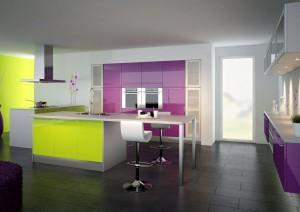 cuisine couleurs vives