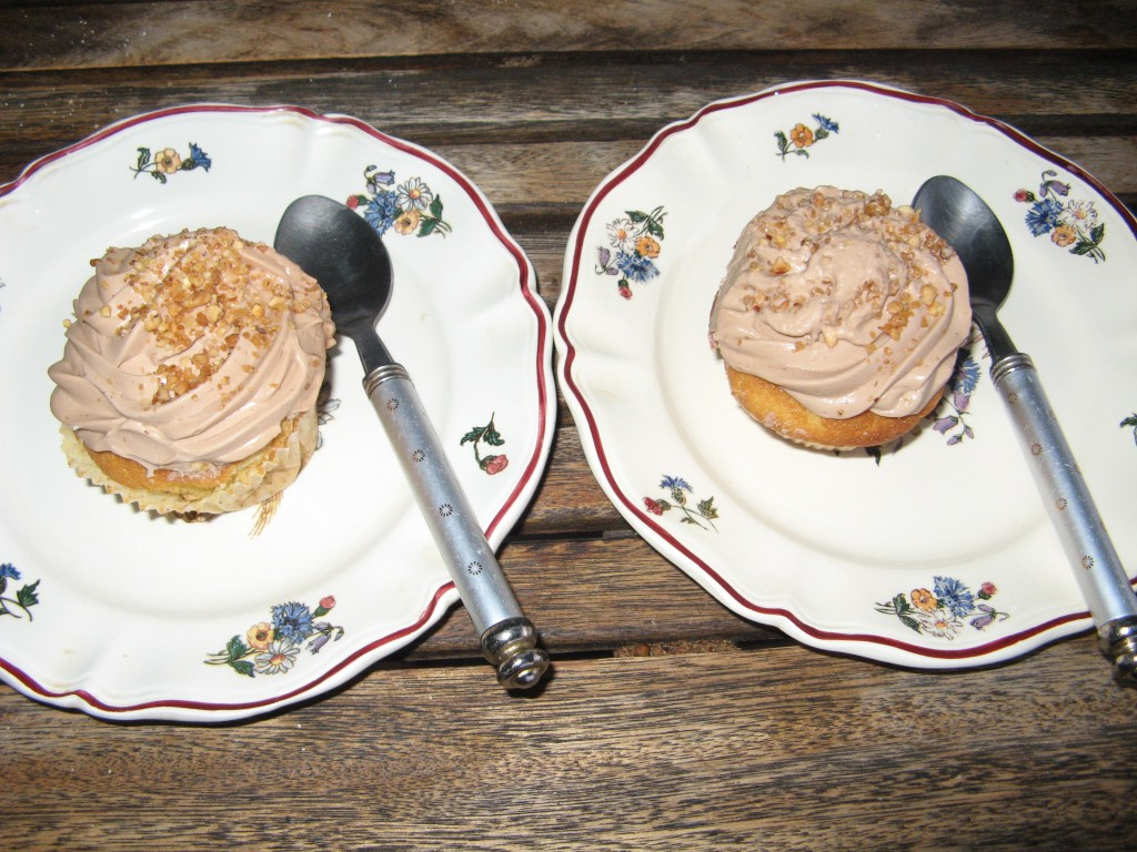 cupcake vanille nutella recette gateau