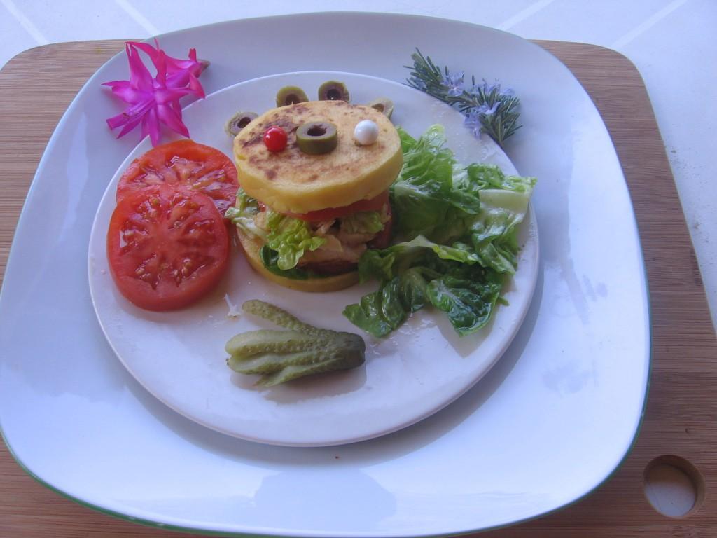 hamburger panisse