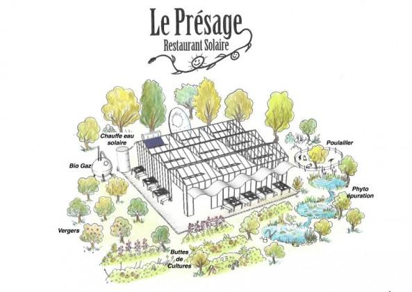 le presage restaurant solaire aubagne