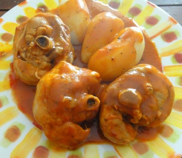 Un excellent osso bucco de dinde au citron gourmicom - Comment cuisiner osso bucco de dinde ...
