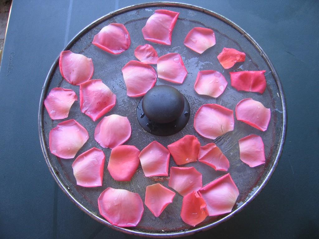 petales rose confits