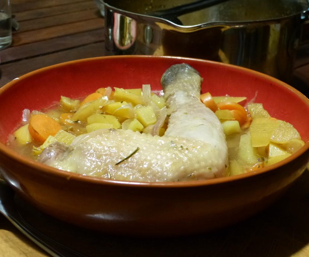 potee poulet soupe recette
