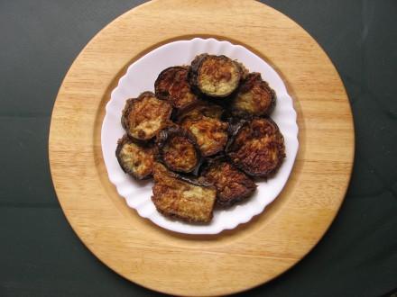 recette beignets aubergine