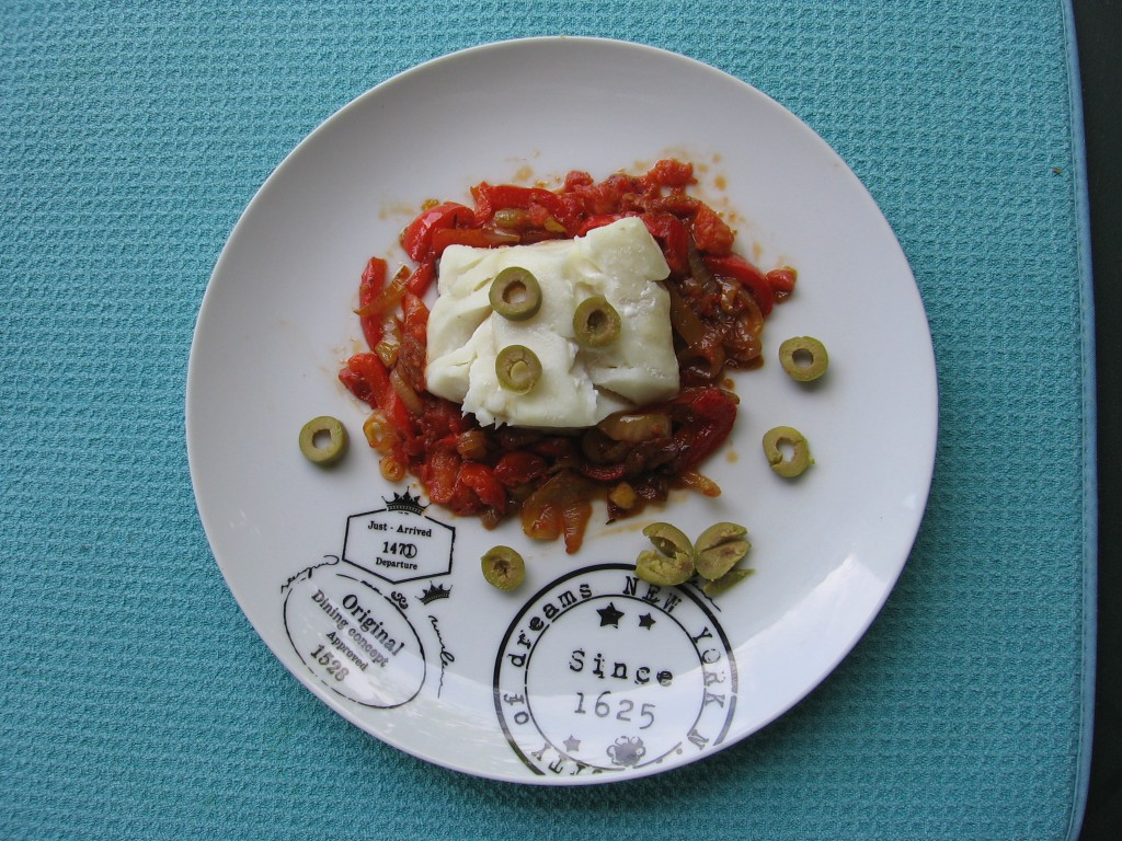 recette cabillaud poivron tomate oignon