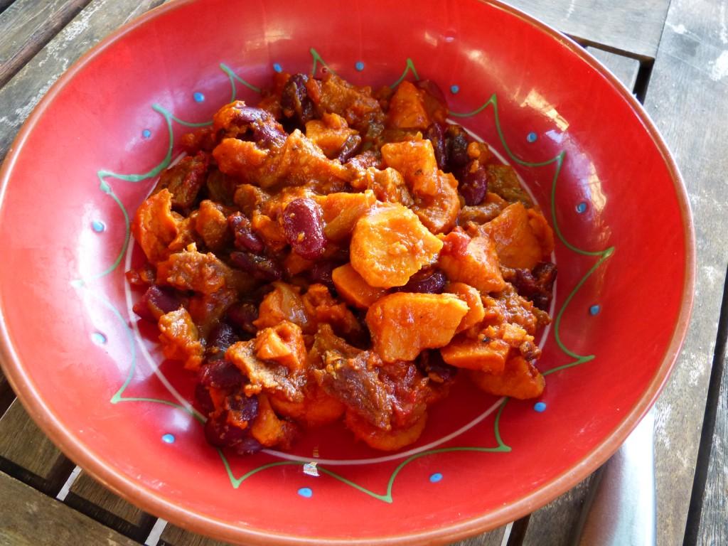 recette chorizo patates douces