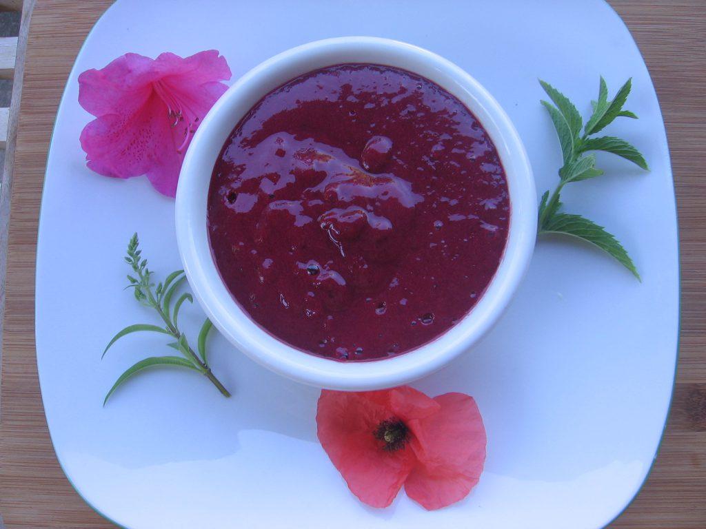 recette creme fraises