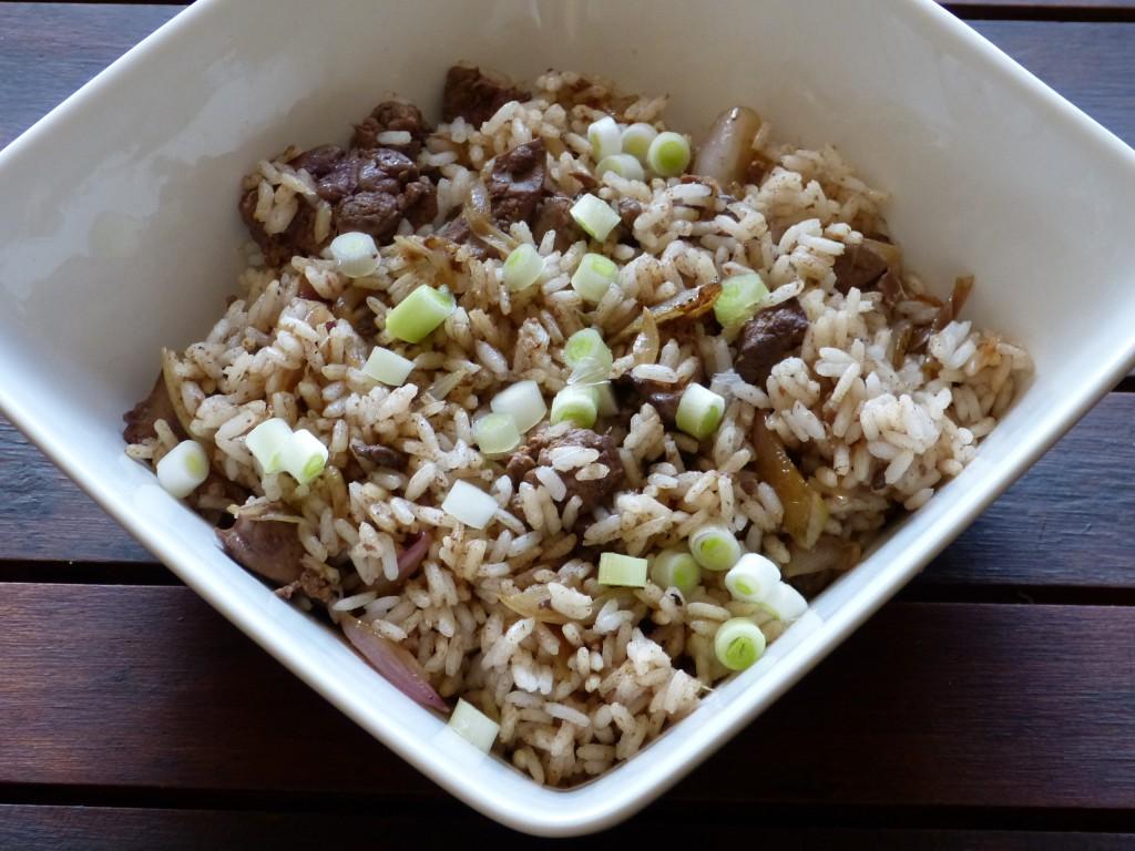 recette dirty rice poulet cajun louisiane