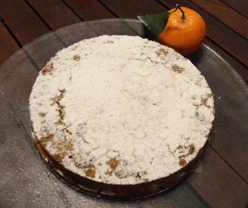 recette moelleux clementine cannelle