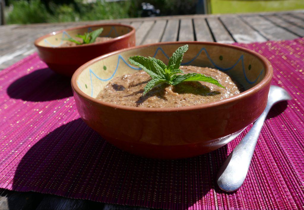 recette mousse chocolat banane mangue