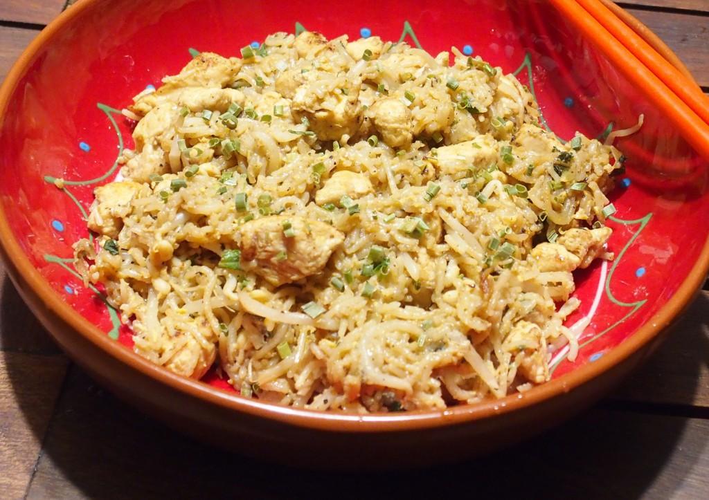 recette pad thai poulet
