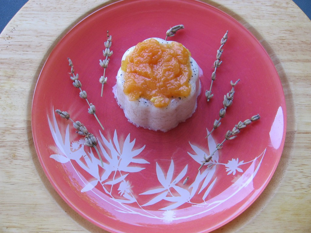recette panna cotta abricot