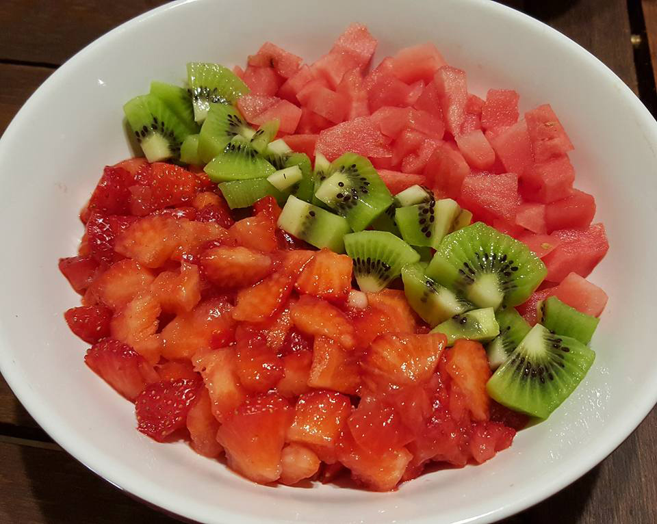 recette power bowl fruits