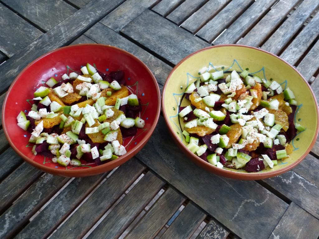 recette salade betterave orange