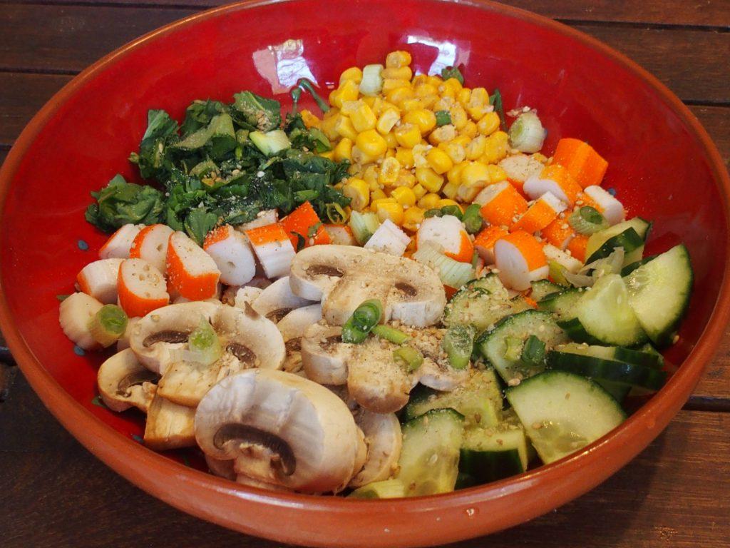 recette buddha bowl surimi