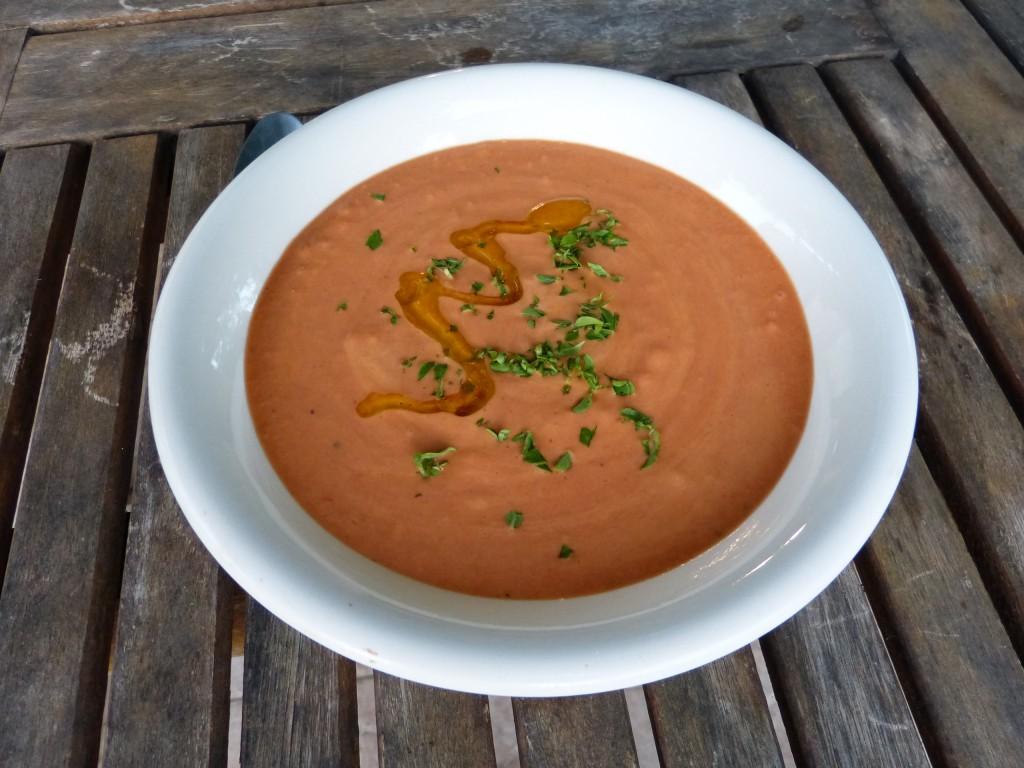 recette veloute poivron soupe