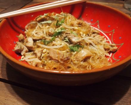 recette wok poulet provencale