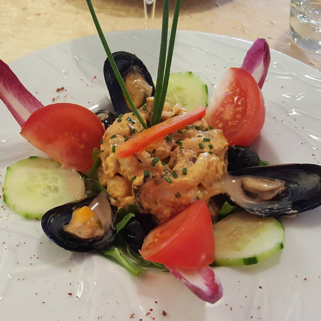 restaurant casa romana camargue poulpe patate