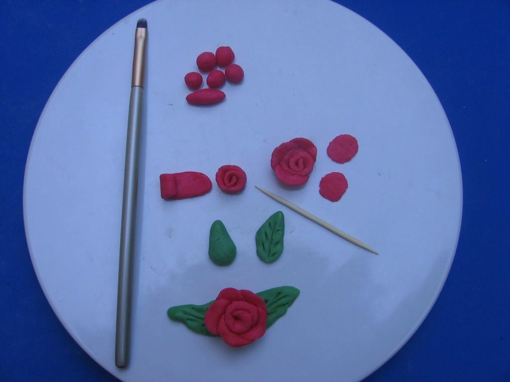rose pate sucre