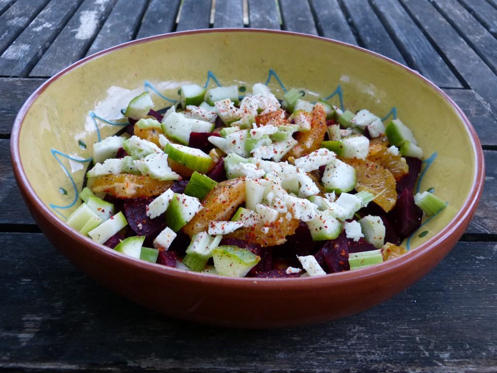 salade betterave orange recette