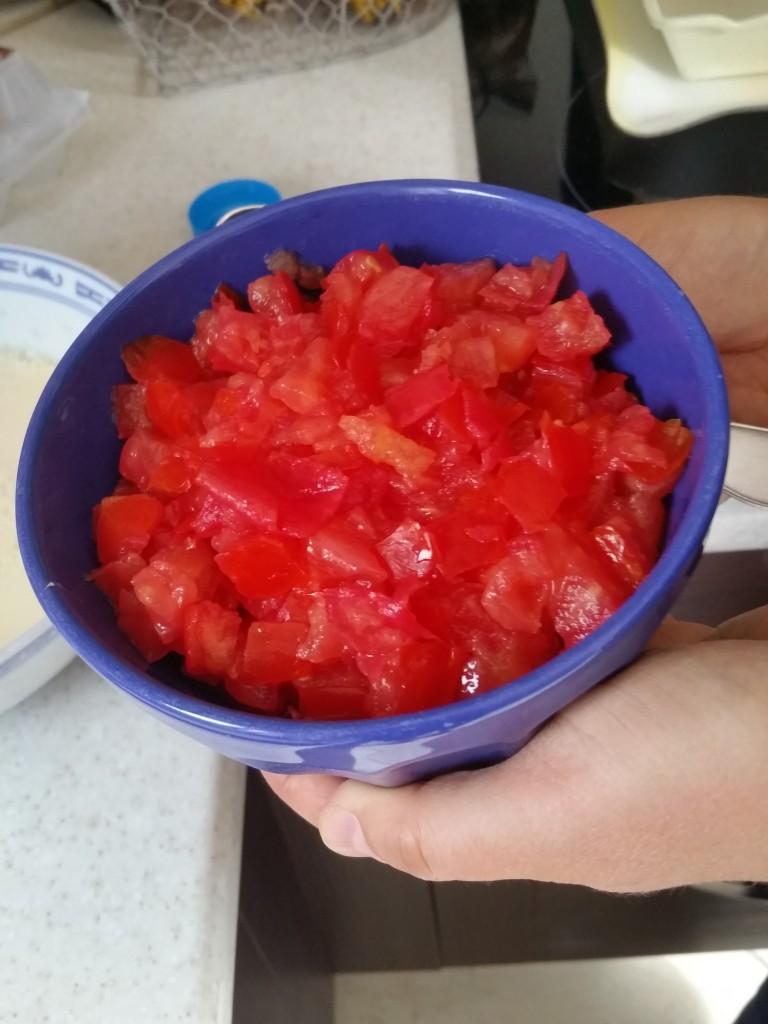 tomates quiche