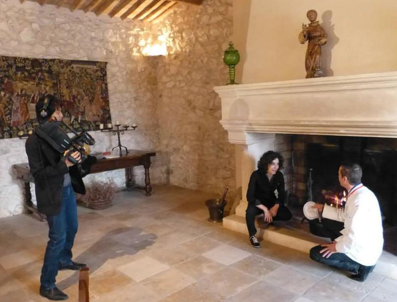 tournage chateau virant
